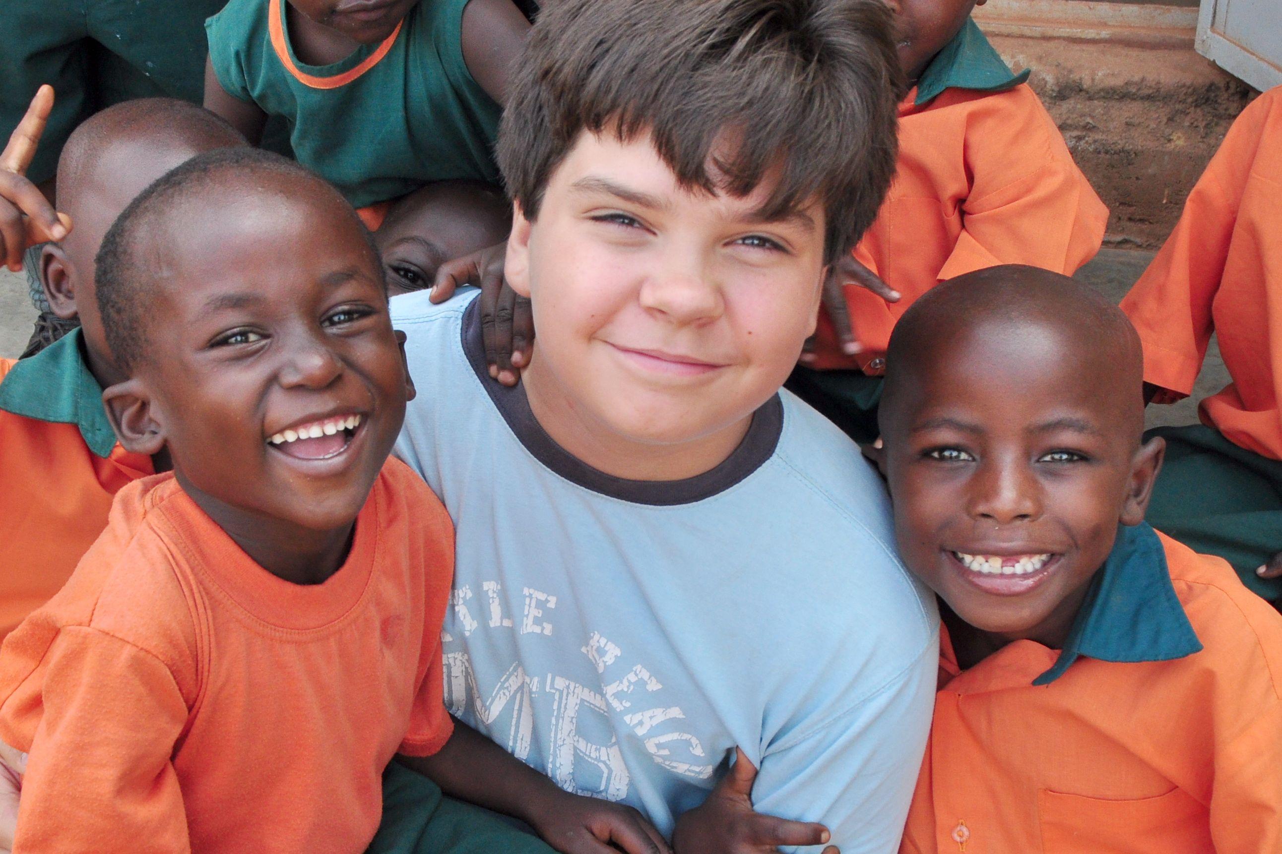 A visit with my sponsored children, Kampala, Uganda