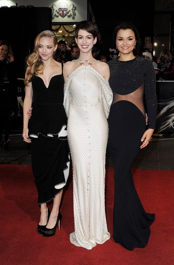 Anne Hathaway With Givenchy - Amazing!