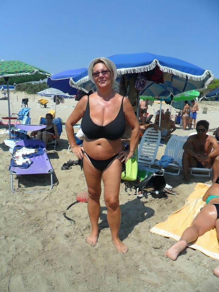 Big tit mature bathing suits