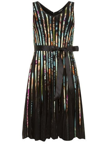 c1b954f65 Chase 7 Multi Blue Ribbon Stripe Dress