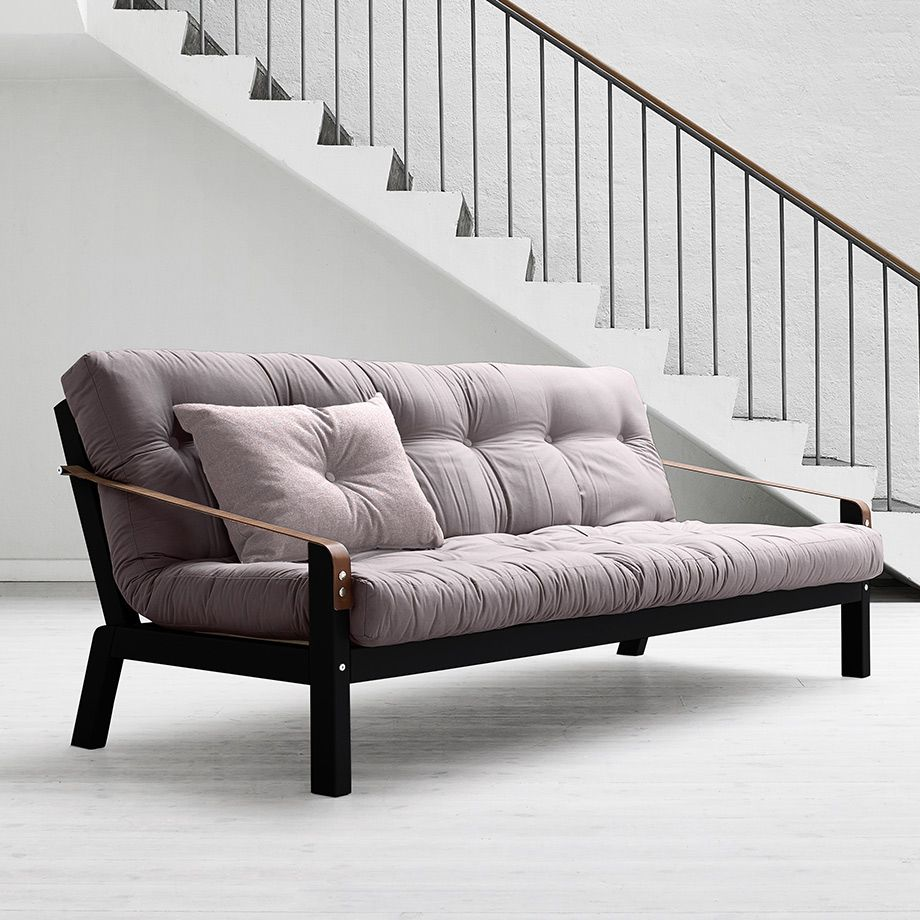 Stylish Futons With Easy Flexibility Canape Lit Futon With