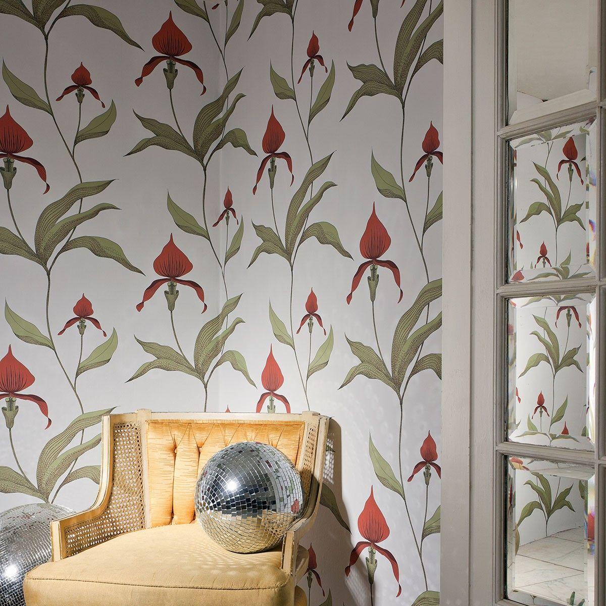 Cole Son Orchid Wallpaper 95 10 72 00 Cole Son Wallpaper
