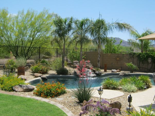 Great pool area | Outdoor Living Area | Backyard ...