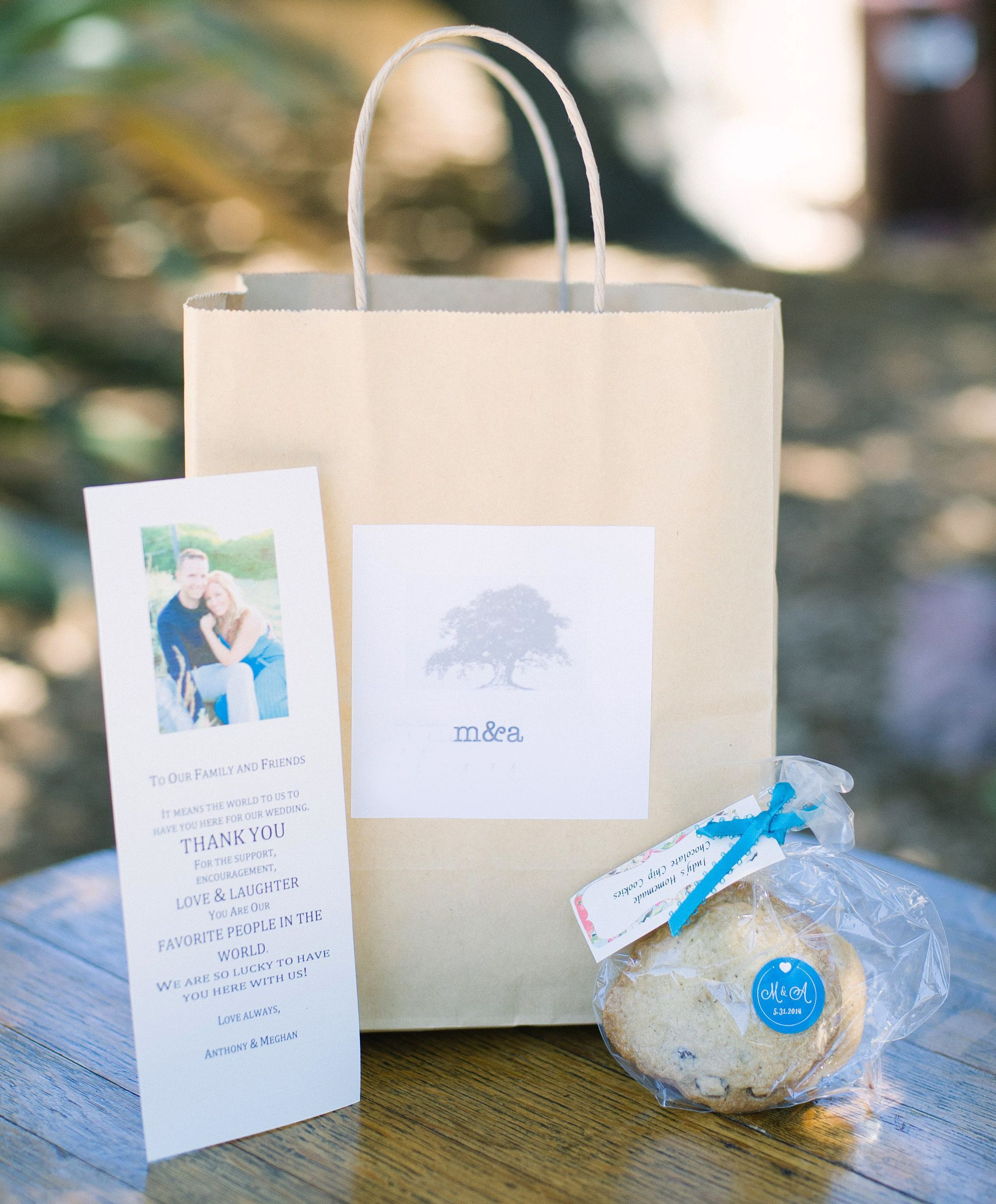 Welcome letter in wedding welcome bag | Welcome bags | Pinterest ...