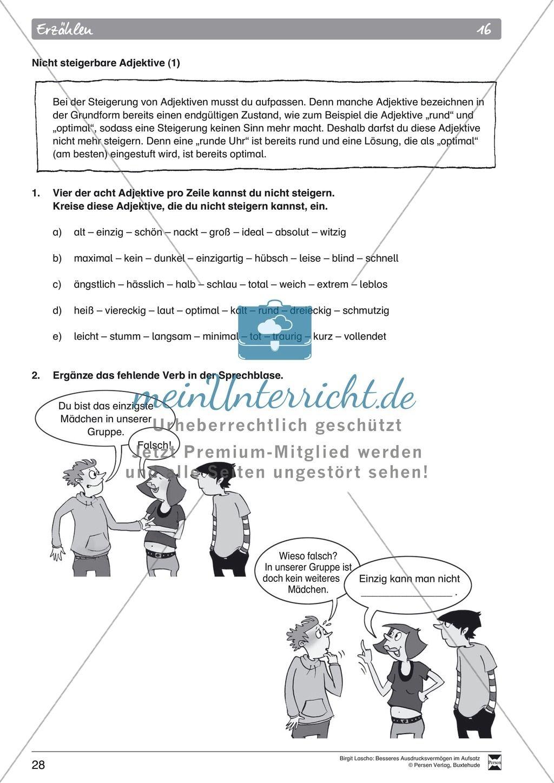 15 Prateritum Vs Unvollkommenes Arbeitsblatt