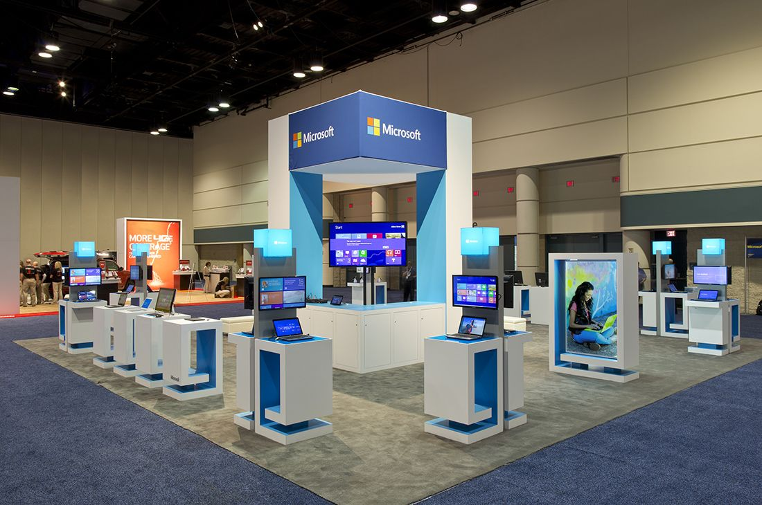 Expo Exhibition Stands Xbox One : Trade show ideas have samples of your actual product on