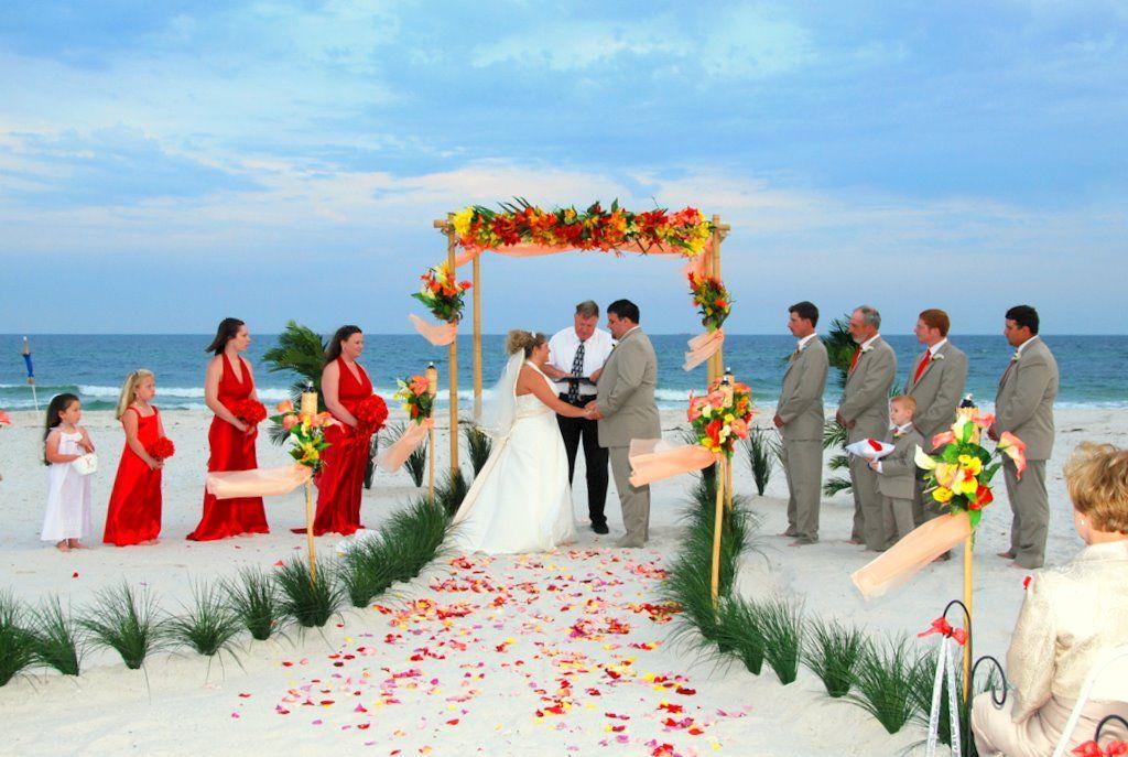 Simple Beach Weddings Decoration