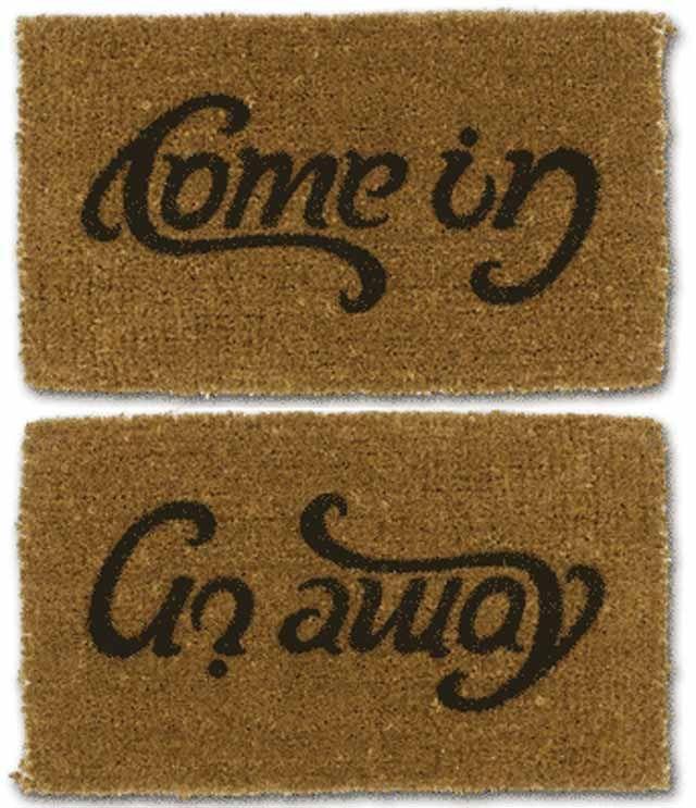 Creatively Funny Doormats 24 Mats Door Mat Typography Inspiration Home
