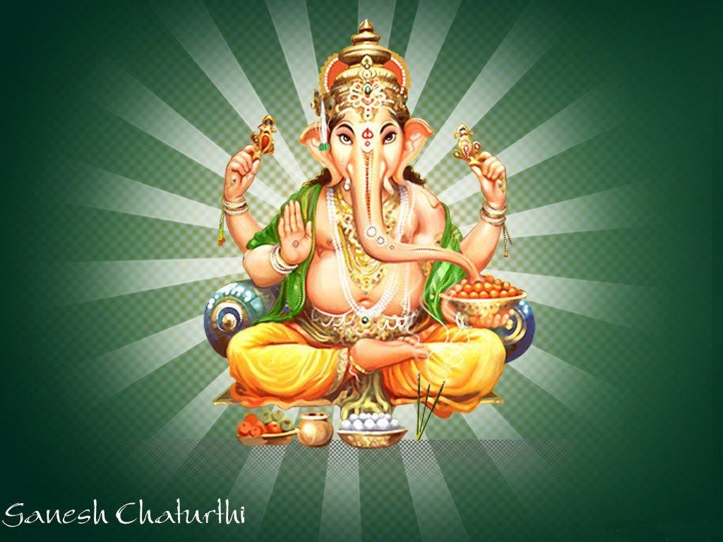 Hd wallpaper vinayagar - Free Download Ganesha Chaturthi Wallpapers