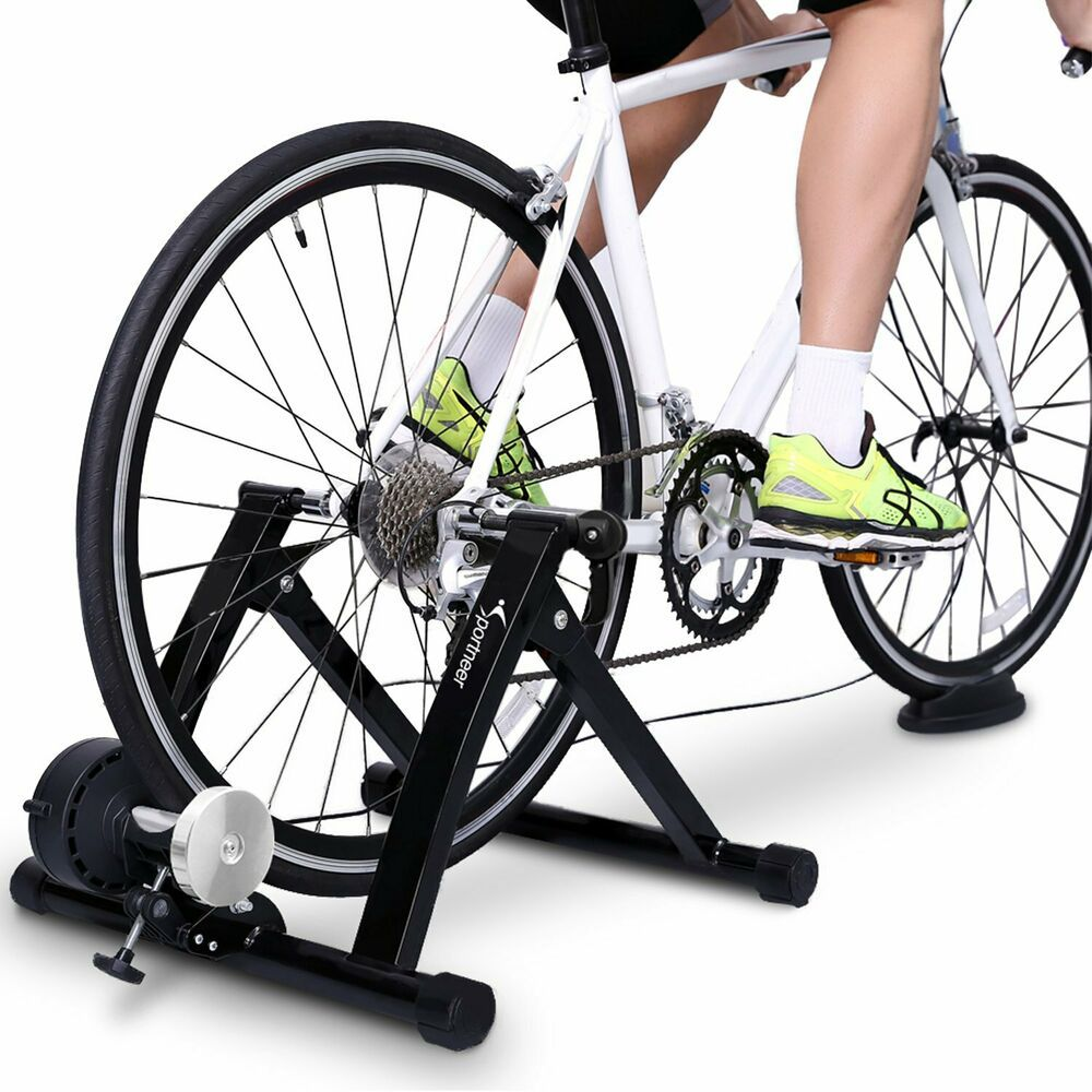 The Stationary Bike Stand S Noise Reduction Resistance Wheel Works