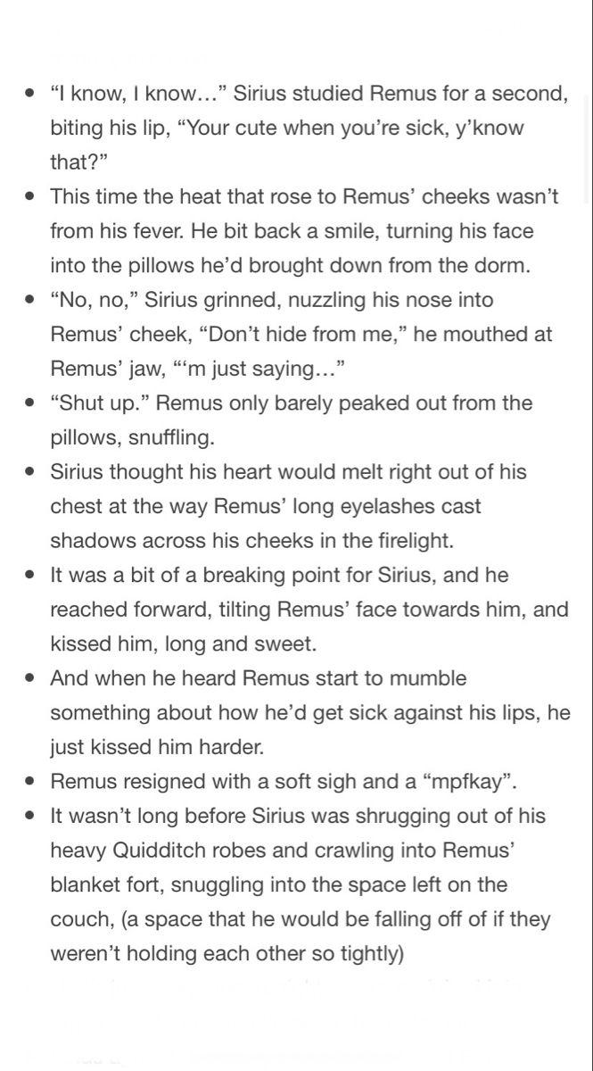 Wolfstar and sick Remus 3/4