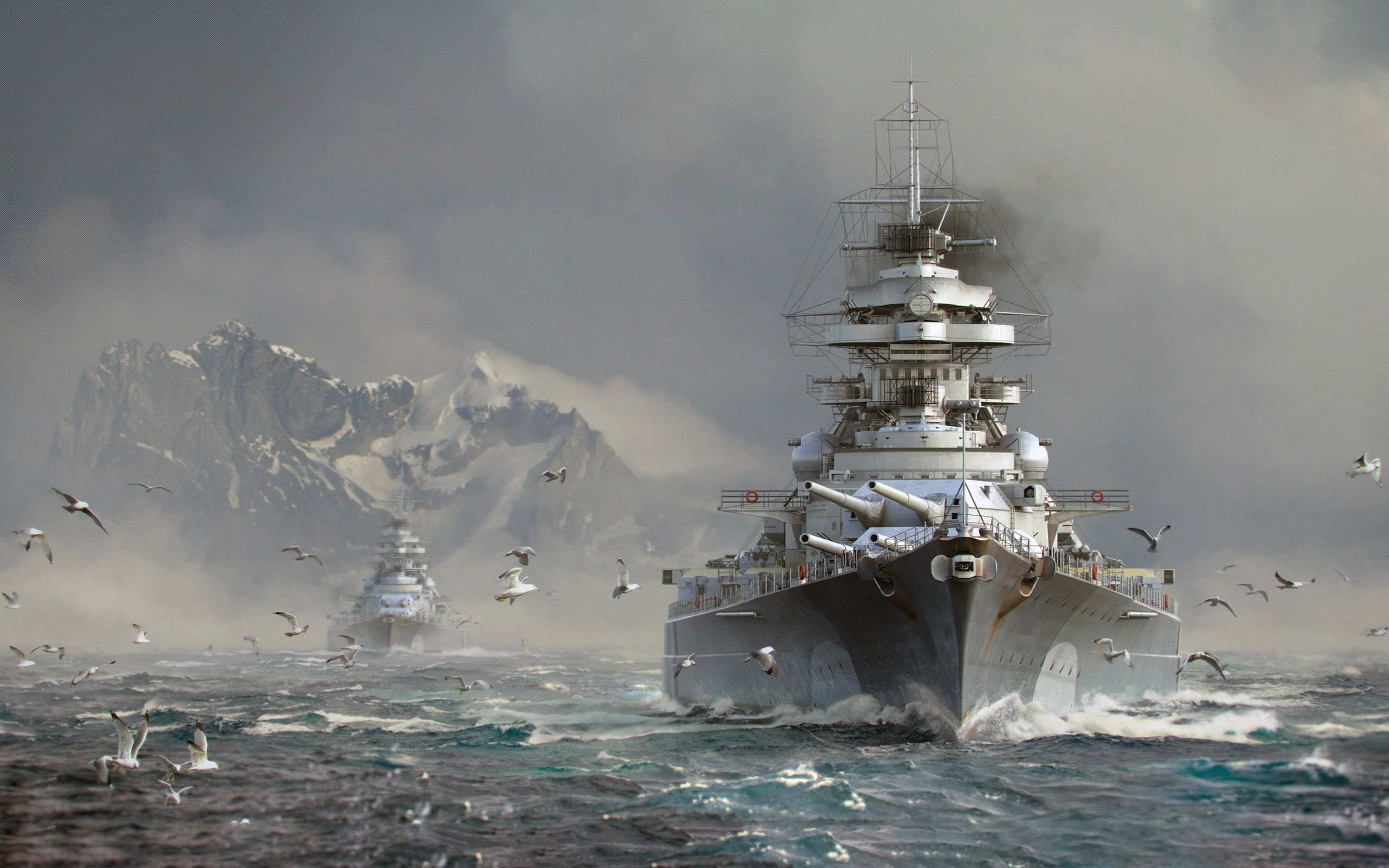 Video Game World Of Warships Wallpaper In 2020 World Of Warships