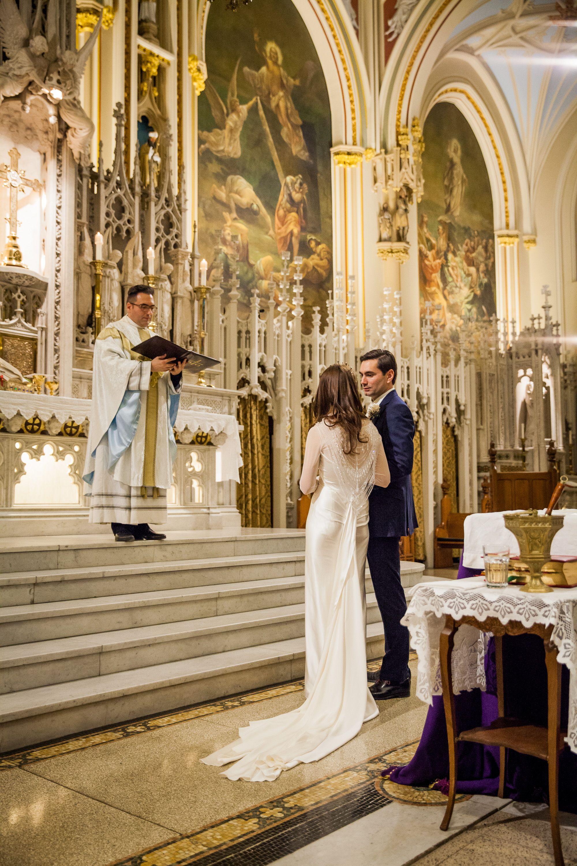 Catholic Wedding Mass Ceremony New York City Upper East