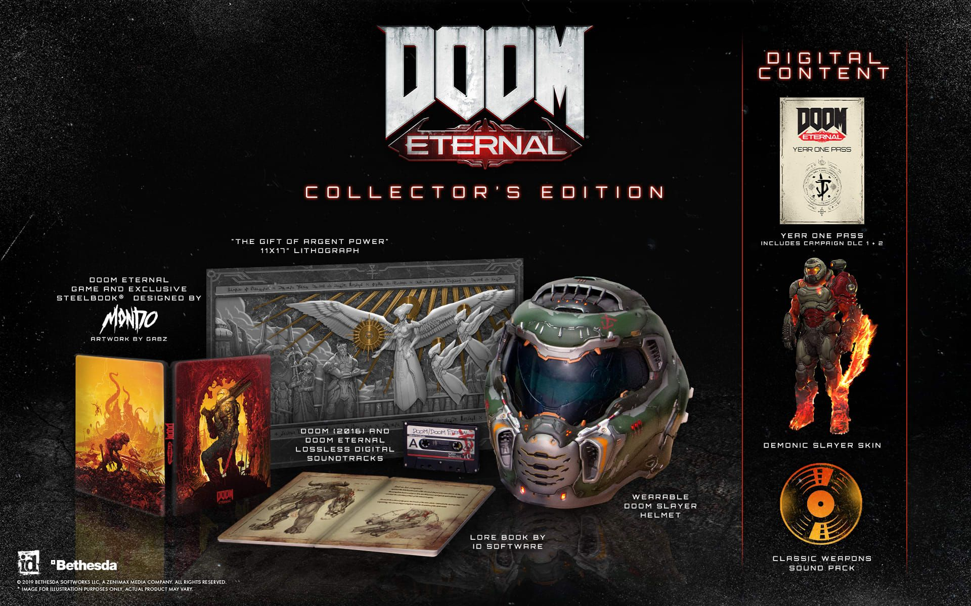 Doom Eternal Collectors Edition Game Exclusive With Images