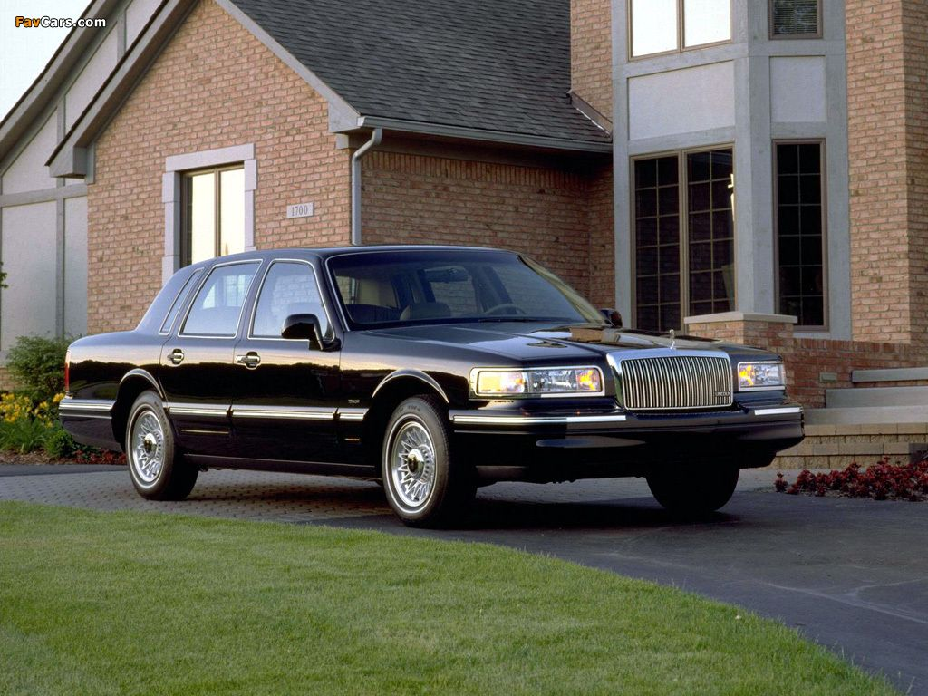 1994 Lincoln Town Car Black World S Best Official State Cars