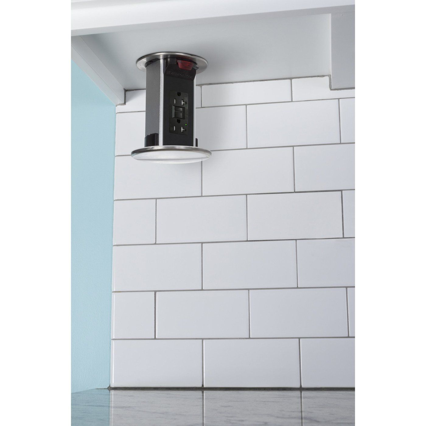 Kitchen Power Pop Ups 45 Day Return Policy Hidden Outlets Kitchen Outlets Inside Cabinets