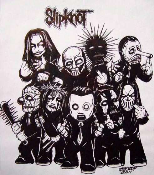 Slipknot Rock Bandas De Rock Metalero Y Bandas