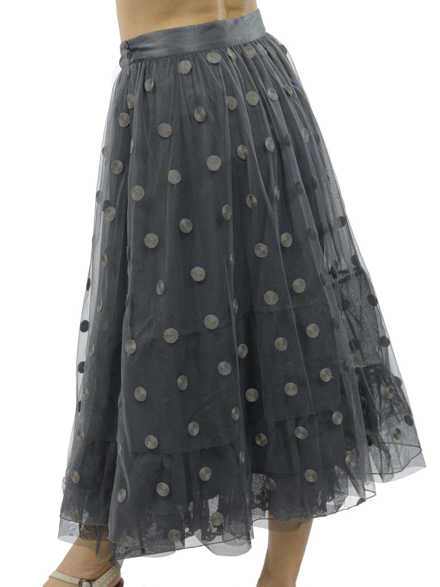 Grey Skirt Myrine