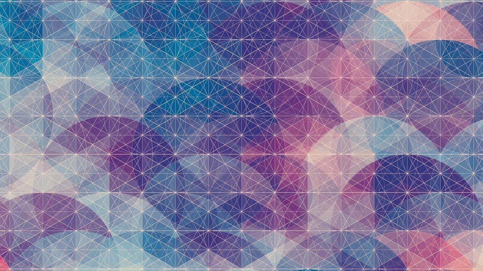 Geometric Shape Design HD Desktop Wallpaper 24824