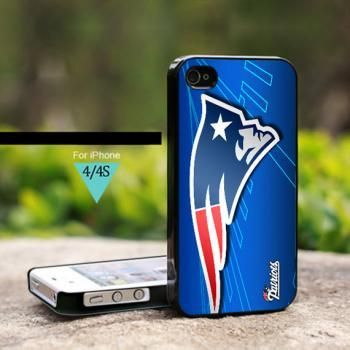 IS0022 New England Patriots NFL Logo For iPhone 4 Case