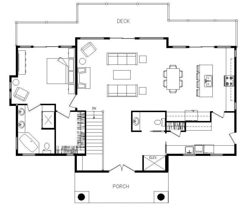 Grandview II Log Homes, Cabins and Log Home Floor Plans