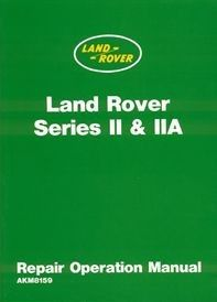 Land Rover Series 11 11a Official Workshop Manual Land Rover Series Land Rover Manual