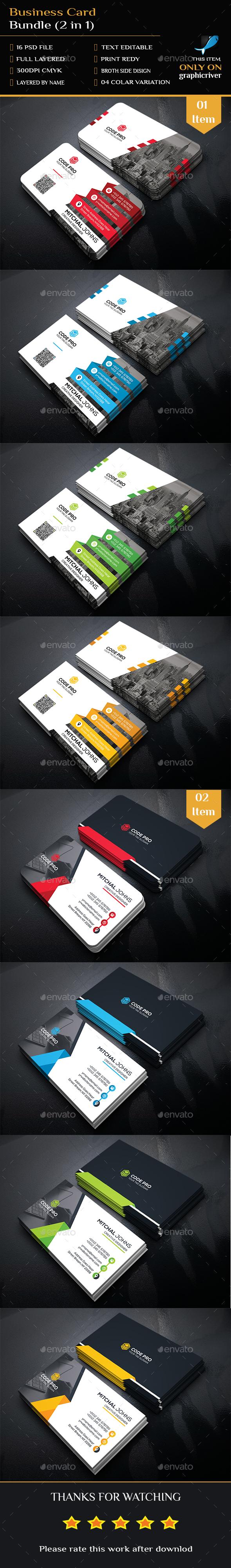 2 Business Card Templates PSD   Business Card Templates ...