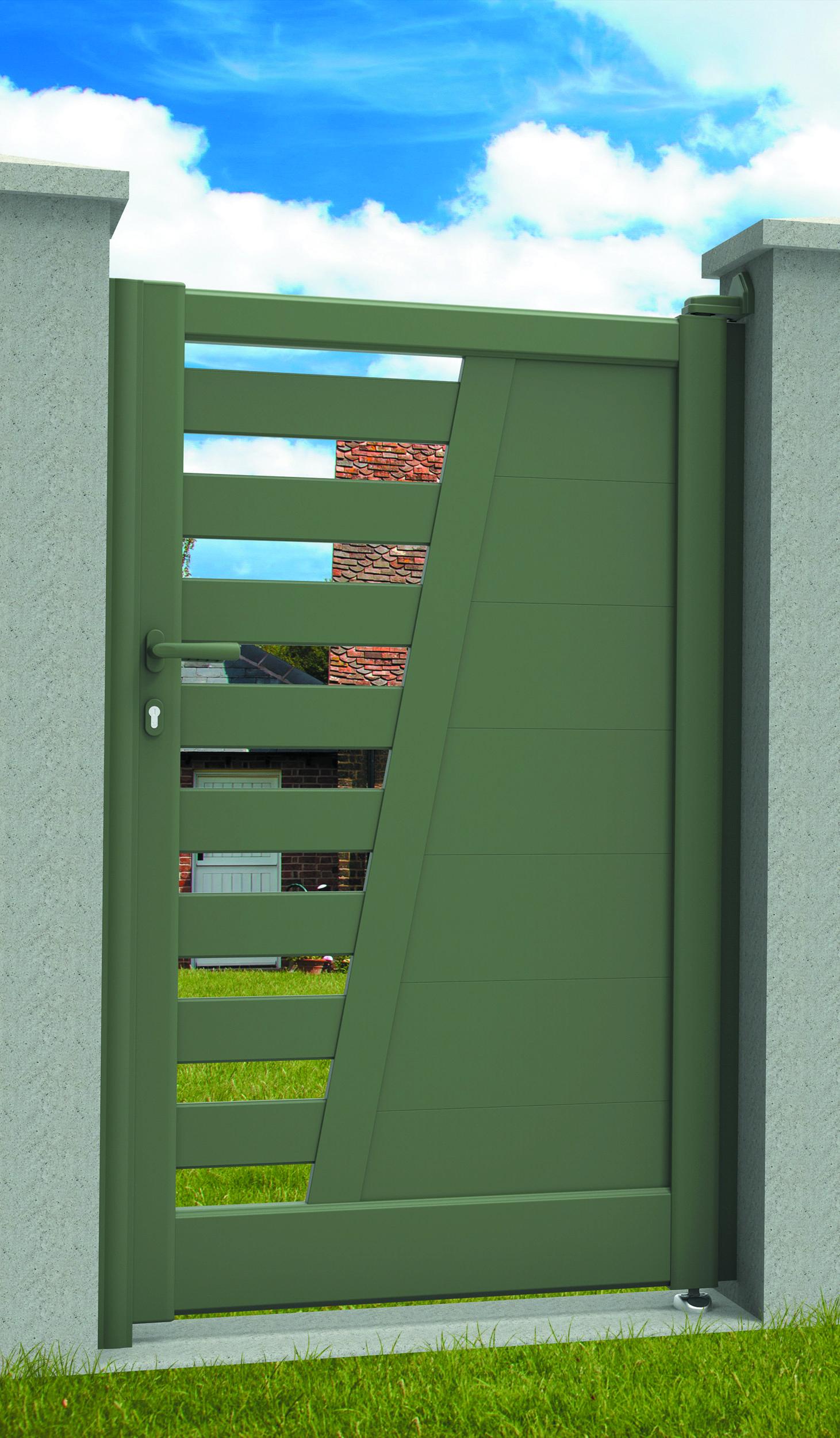 epingle sur portails et portillons battants
