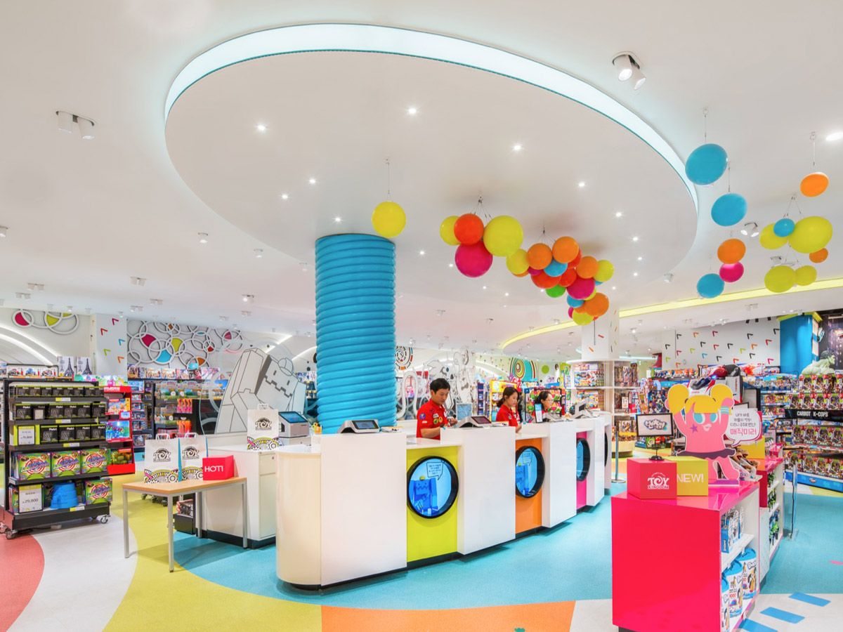 Toy Kingdom Experience Design And Branding Chute