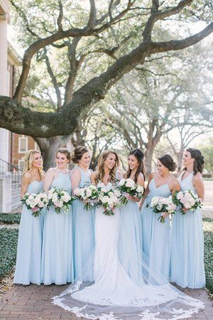 Dusty Blue Bridesmaid Dress – Dress