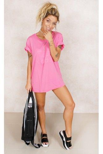 3d4add8afd2 41.teedress.rosa.adidas.fashioncloset Adidas Feminino