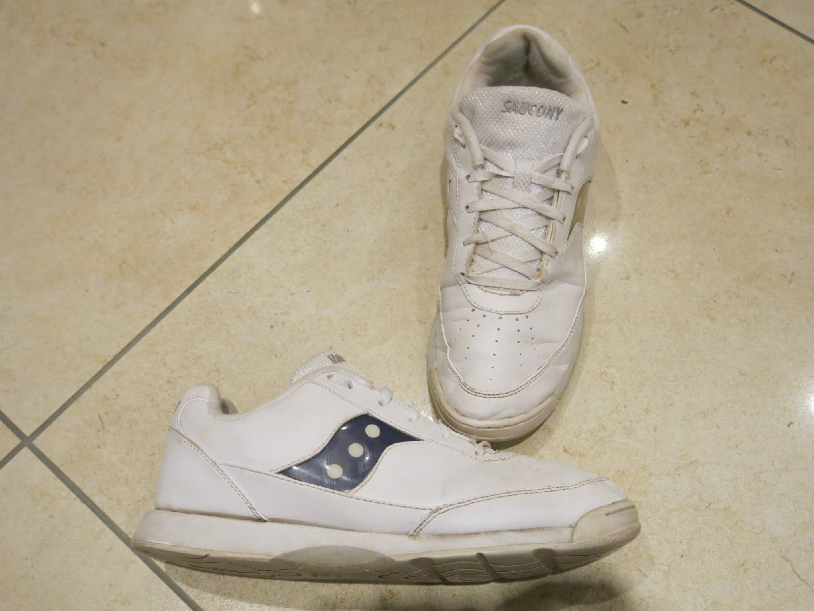 Saucony #charisma women #cheerleader trainers shoes white road #cross  -17781 size,
