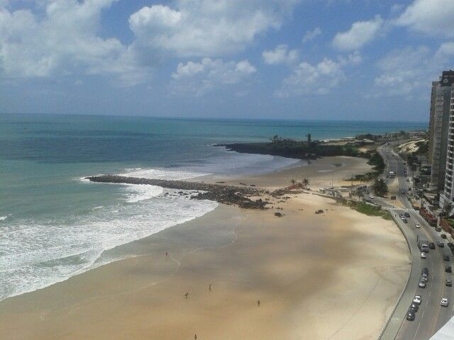 Praia de Areia Preta, Natal/RN - Brasil
