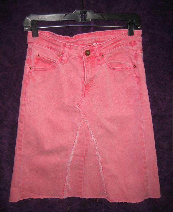 Hot Pink Skirt!!!