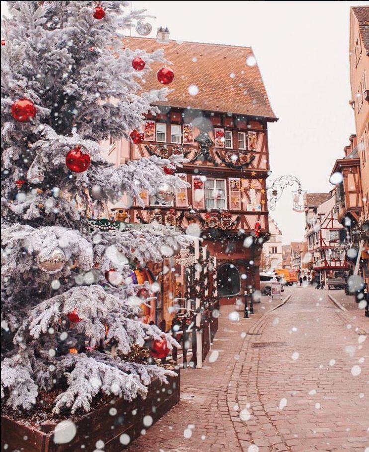 новогодние улицы в снегу картинки системы