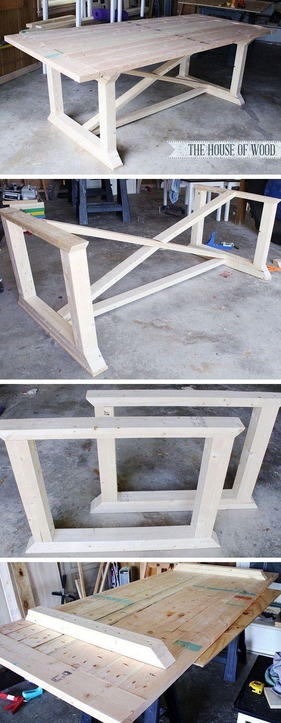 Anleitung zum Werkbank selber bauen #workbench #DIY # ...