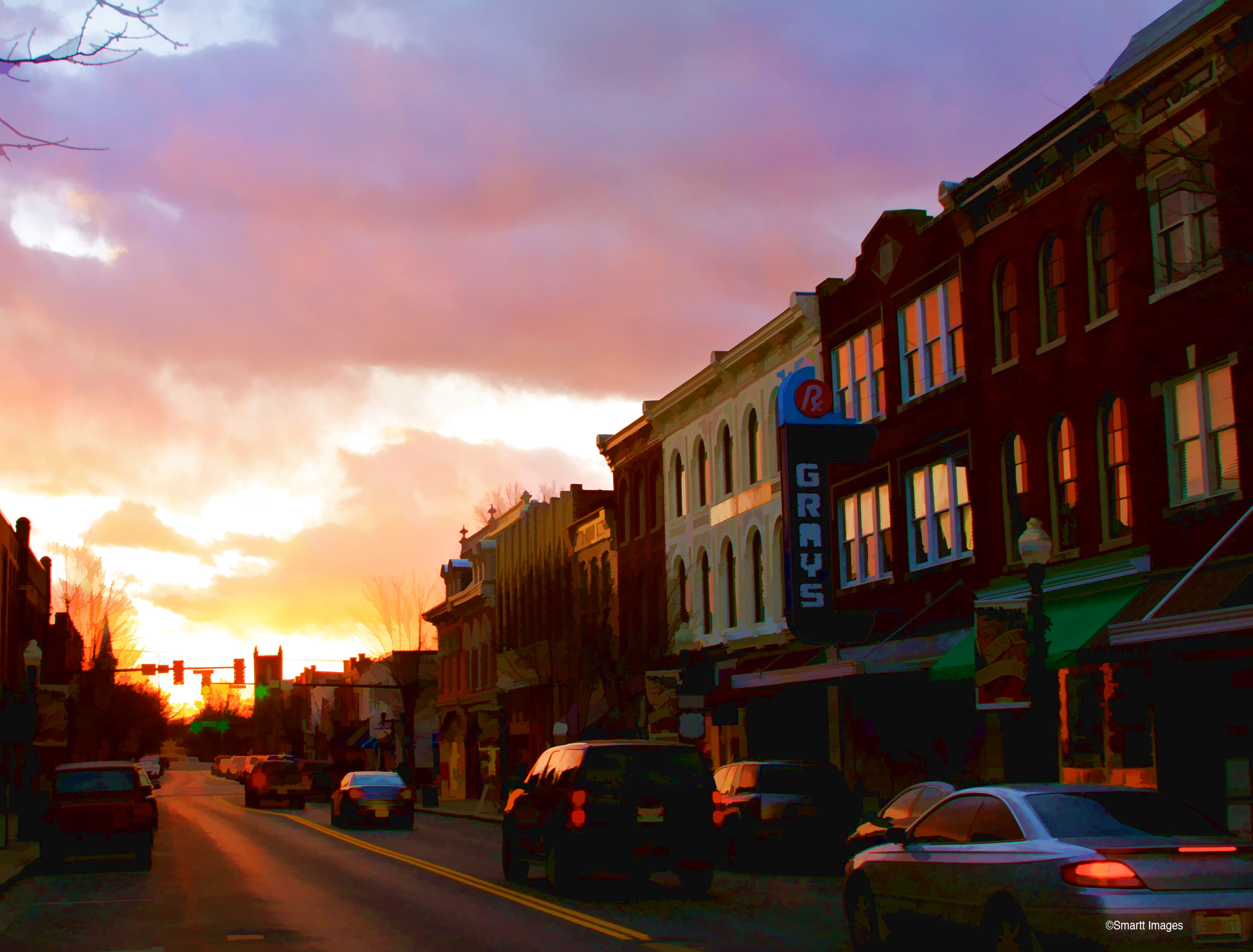 Downtown Franklin Tn >> Reflection On History Main Street Of Downtown Franklin