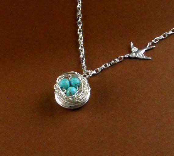 Robin Egg Blue Bird Nest   by Maniadesign, $23.50