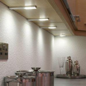 Sensio Quadra Plus U Led Under Cabinet Light Under Cabinet Lighting Kitchen Led Lighting Led Under Cabinet Lighting