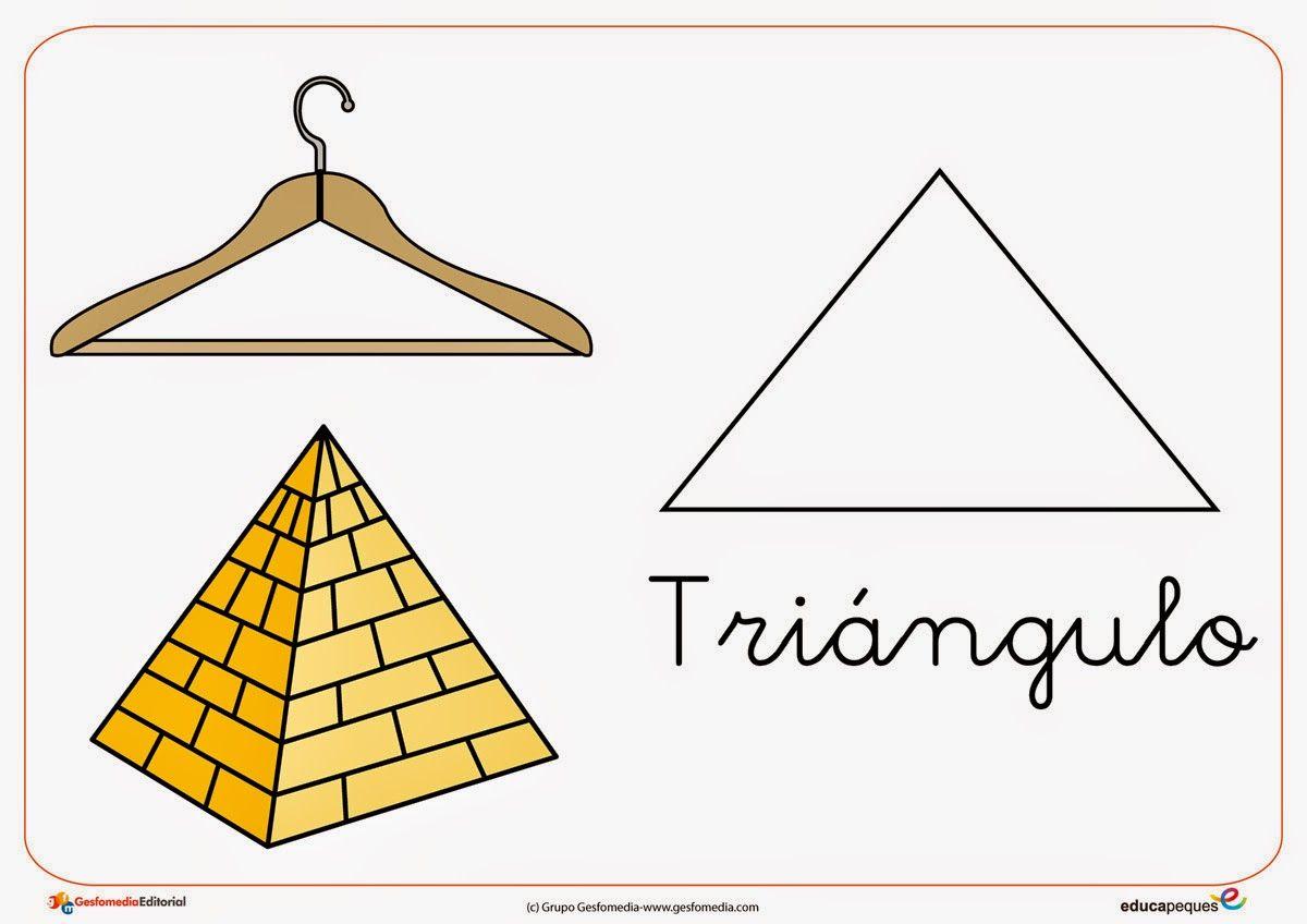 Resultado de imagen de trazo del triangulo para niños | P3 ...