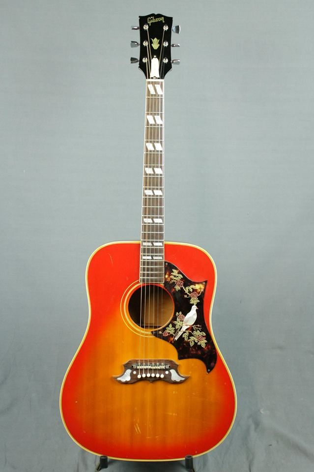 1968 Gibson Dove Learn Acoustic Guitar Chords To