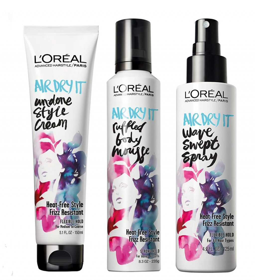 L'Oreal Air Dry It Air dry hair, Dry hair care, Loreal