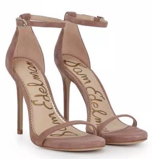 Sam Edelman Damenschuhe Ariella Strappy Heels Heels Heels Dusty Rose Suede Damens Größe ... a74ee8