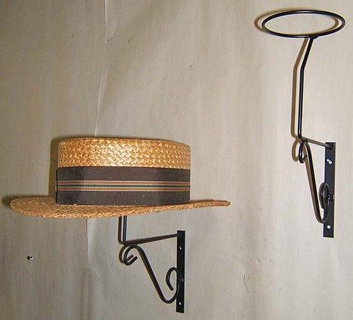 3 Decorative Mnt Wall Hat Rack Display Millinery Decor Wall Hat Racks Wall Hats Diy Hat Rack