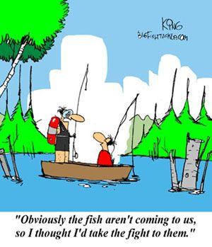 Bigfishtackle Com S Fishing Funny See More At Http Www Bigfishtackle Com Comics Comic Archive Fishing Jokes Scuba Diving Quotes Fishing Quotes Funny