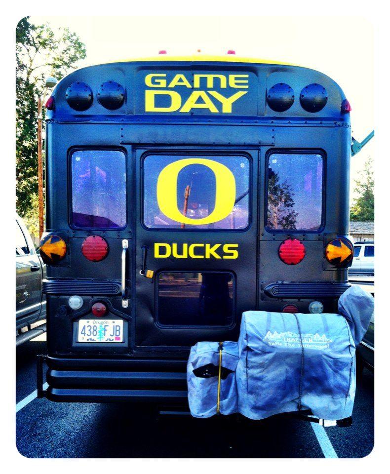 Cool Bus: Too Cool School Bus. #GoDucks