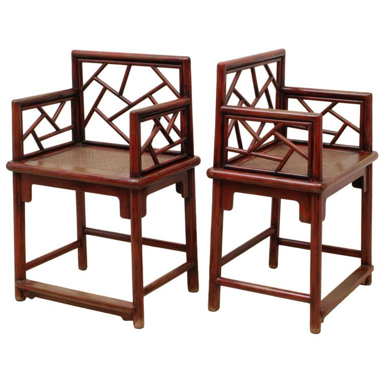 Qing Dynasty Rose Chairs | Chinophile | Pinterest | Qing ...
