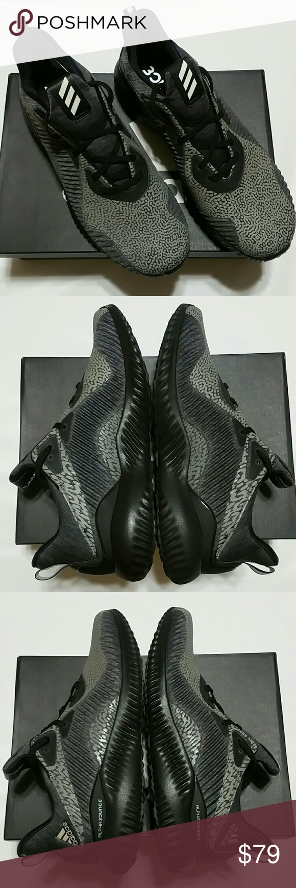 6a10921a12563 adidas alphabounce hpc ams men s Brand New In Box Pair Of Authentic adidas  alphabounce hpc ams m Size 8.5 Running Style DA9561 adidas Shoes Sneakers