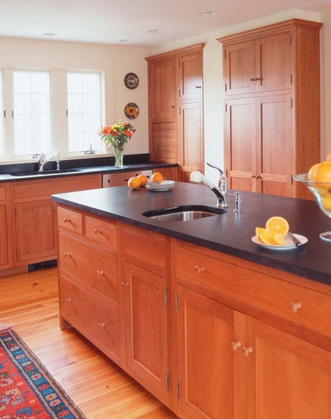 Cherry Kitchen Cabinets With Wood Floors Cherry Wood Kitchen Cabinets Wood Kitchen Cabinets Cherry Cabinets Kitchen