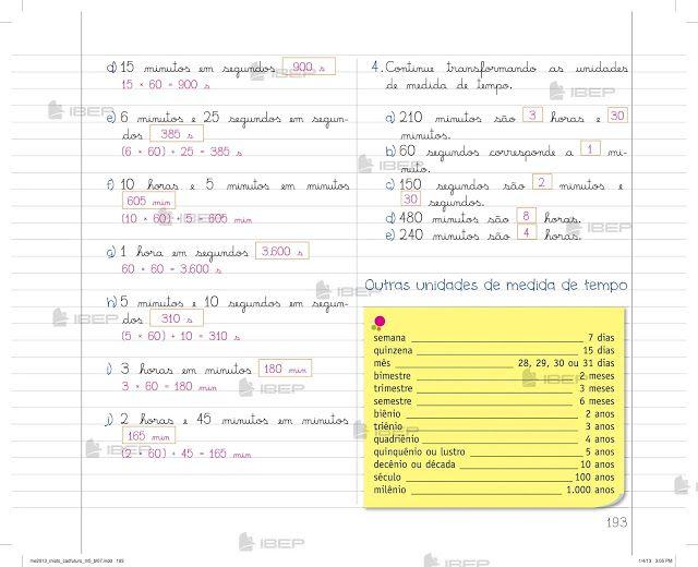 Pin Em Caderno Do Futuro Matematica 5 Ano